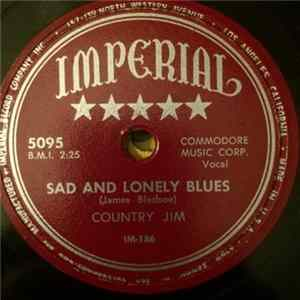 Country Jim - Sad And Lonely Blues / Philippine Blues Album